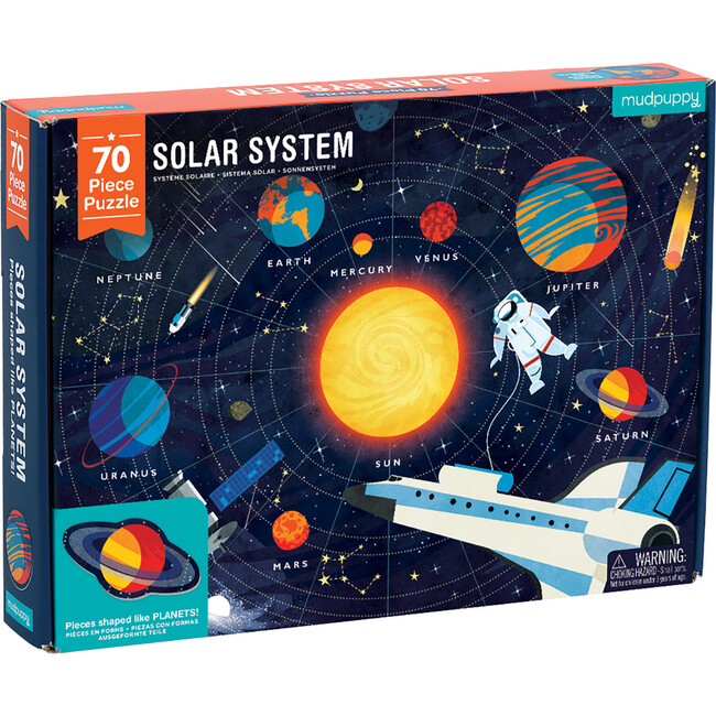 Solar System: Geography Puzzles