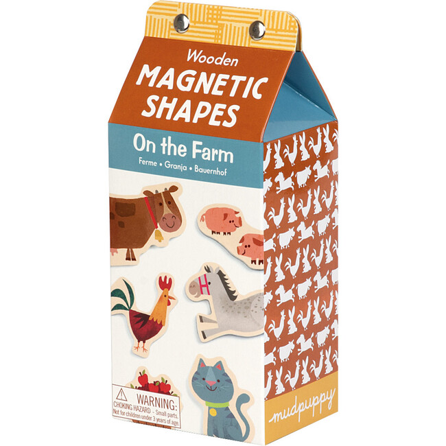 On the Farm: Wooden Magnet Sets