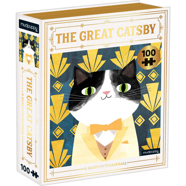 The Great Catsby: Bookish Cats 100-Piece Puzzles