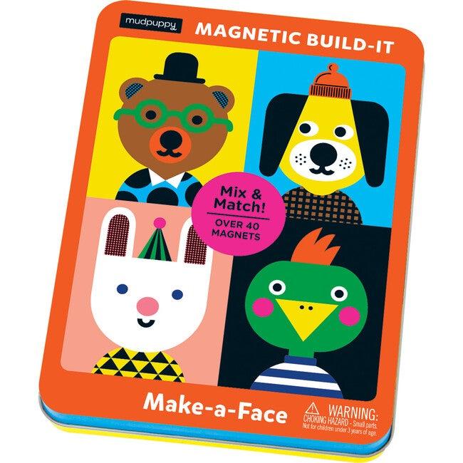 Make-a-Face: Magnetic Build-It: Mix & Match Magnetic Parts!