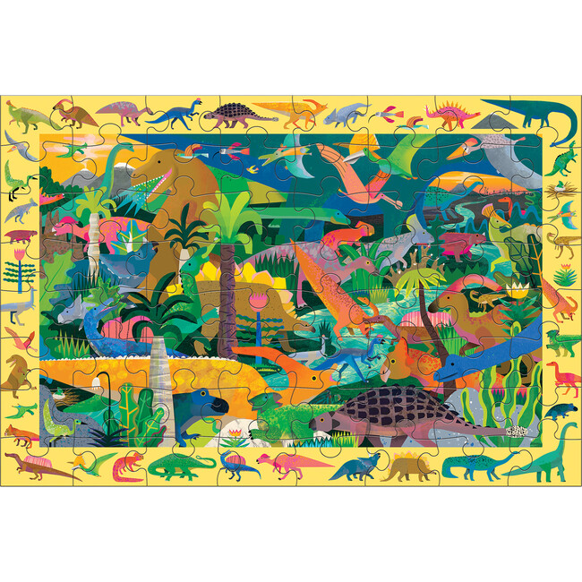 Dinosaurs: Search & Find Puzzles 64 Pieces