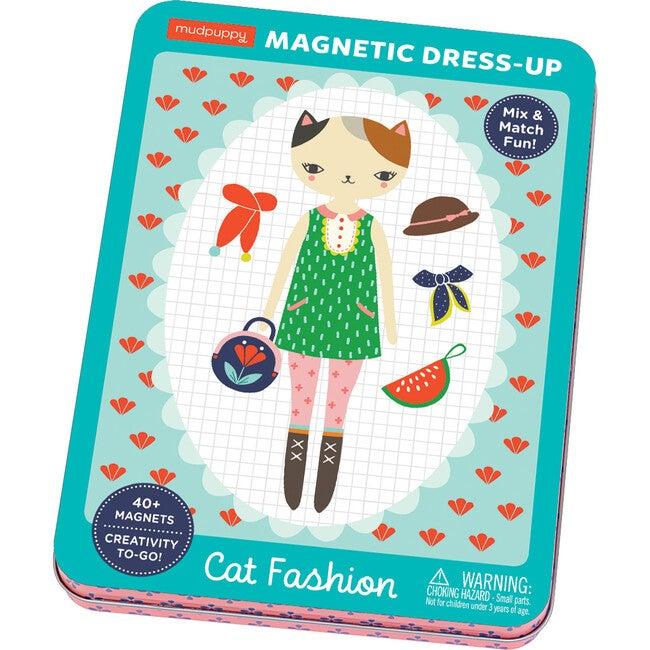 Cat Fashion: Magnetic Build-It: Mix & Match Magnetic Parts!