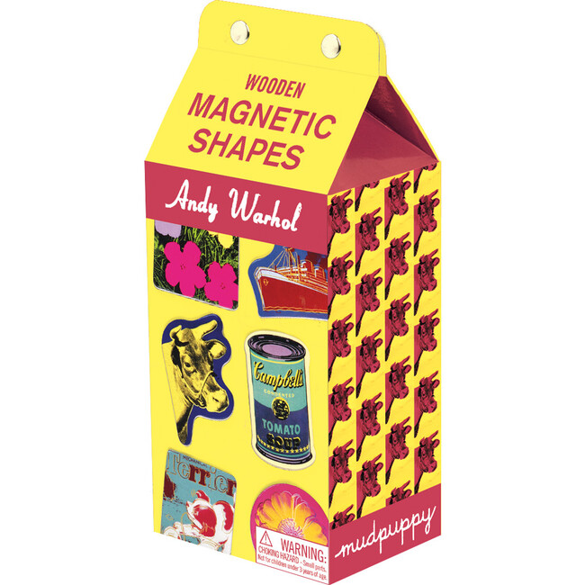Andy Warhol: Wooden Magnet Sets