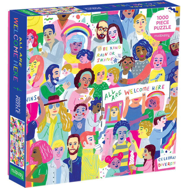 All Are Welcome Here!: 1000 Piece Family Puzzles