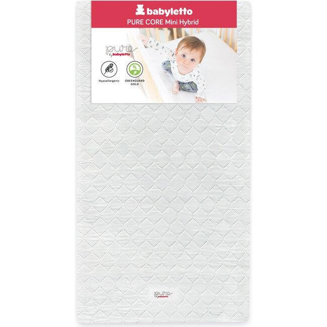 Pure Core Mini Crib Mattress with Hybrid Waterproof Cover