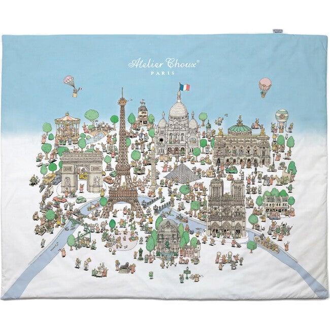 Reversible Quilt, Paris Caroussel