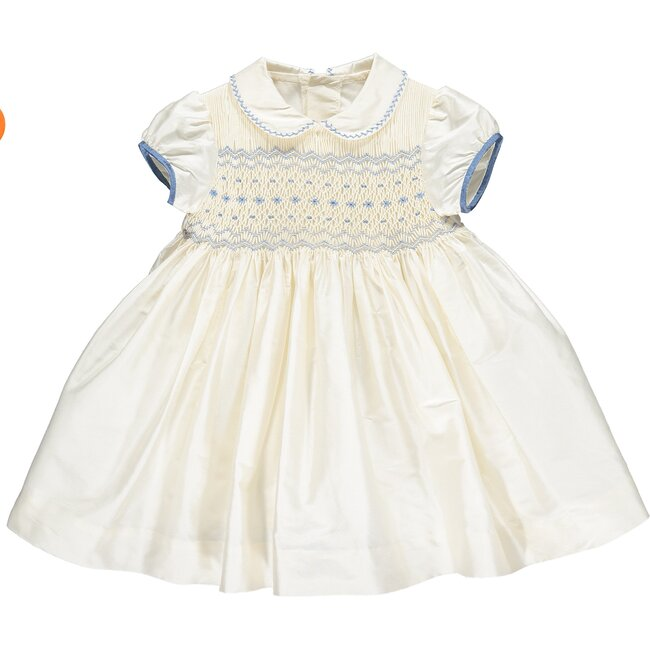 Beatrice Dress, Blue