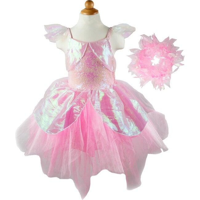 Iridescent Fairy Dress w/Halo