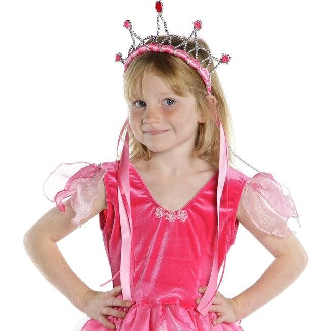 Ribbon Tiara, Dark Pink