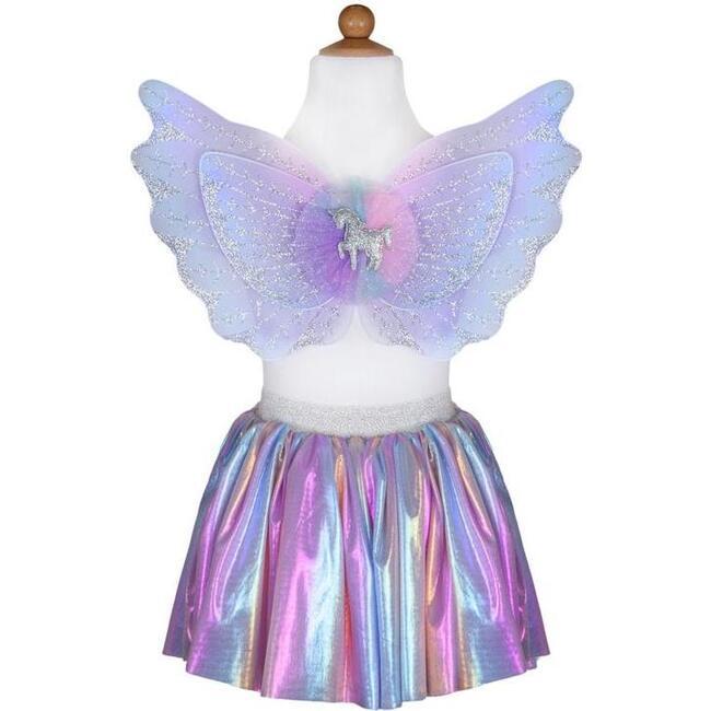 Magical Unicorn Skirt & Wings, Pastel