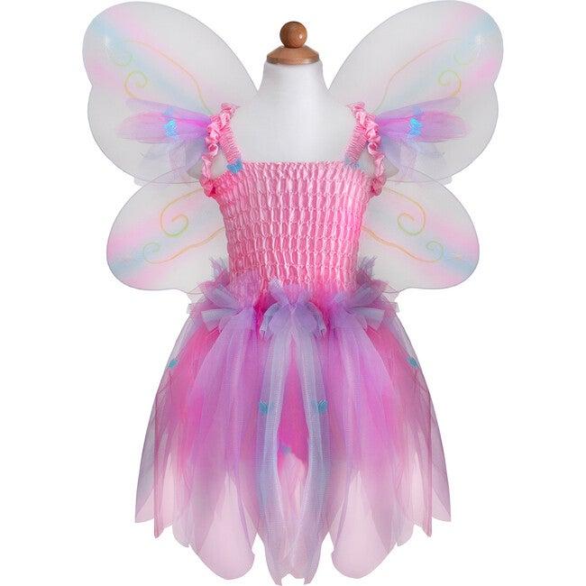 Butterfly Dress, Wings & Wand, Pink