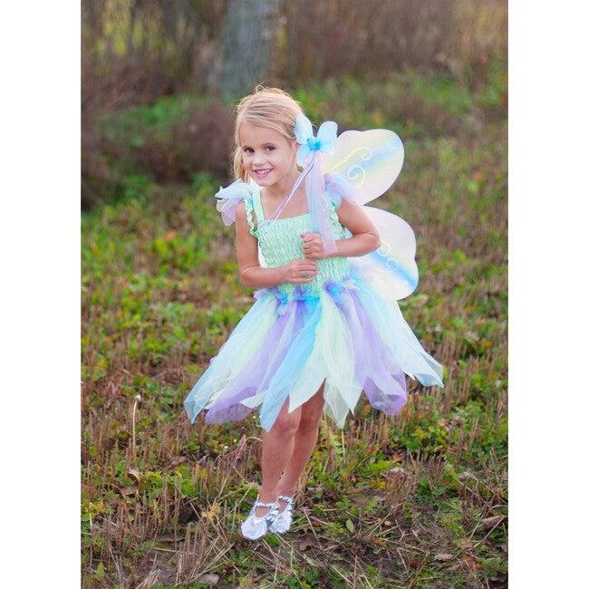 Butterfly Dress, Wings & Wand, Green