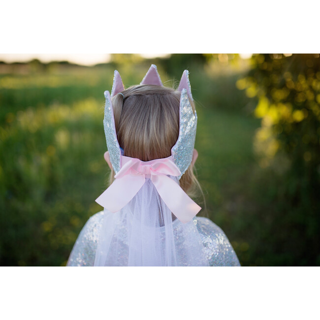 Sequins Crown with Veil