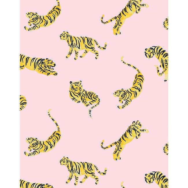Tea Collection Tigers Traditional Wallpaper, Ballet Slipper - Wallpaper - 1