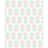 Tea Collection Stylized Papyrus Traditional Wallpaper, Pink - Wallpaper - 1 - thumbnail