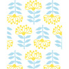 Tea Collection Stylized Papyrus Removable Wallpaper, Daffodil - Wallpaper - 3