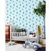 Tea Collection Alexandrine Parakeet Traditional Wallpaper, Small Sky - Wallpaper - 2