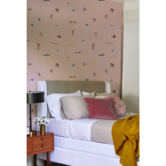 Tea Collection Olympians Removable Wallpaper, Ballet Slipper