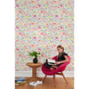 Tea Collection Menagerie Traditional Wallpaper, Pink - Wallpaper - 2