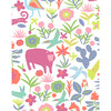 Tea Collection Menagerie Traditional Wallpaper, Pink - Wallpaper - 3