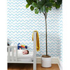 Tea Collection Aegean Waves Removable Wallpaper, Baby Blue - Wallpaper - 2