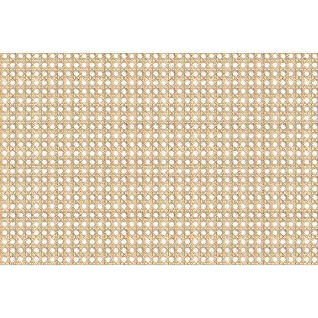Caning Removable Wallpaper, Wicker