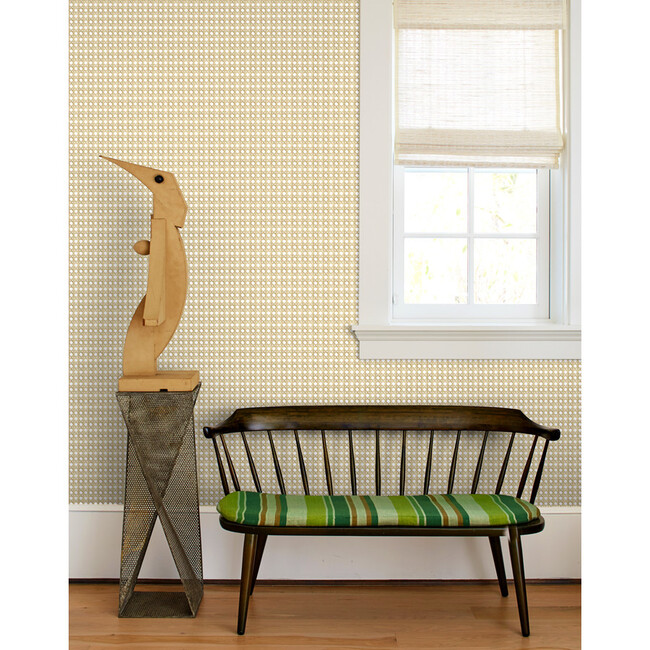 Caning Traditional Wallpaper, Sesame