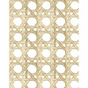 Caning Traditional Wallpaper, Sesame - Wallpaper - 3
