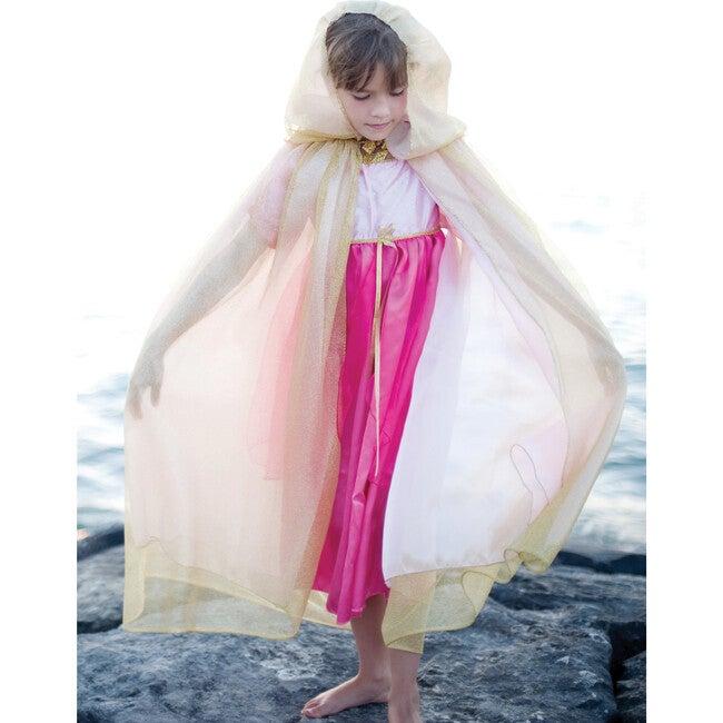 Royal Princess Cape, Gold/Pink