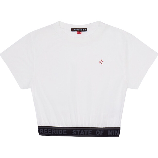 Women's Waisted Sport T-Shirt, White