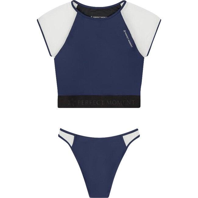 Women's Mesh Bikini, Navy