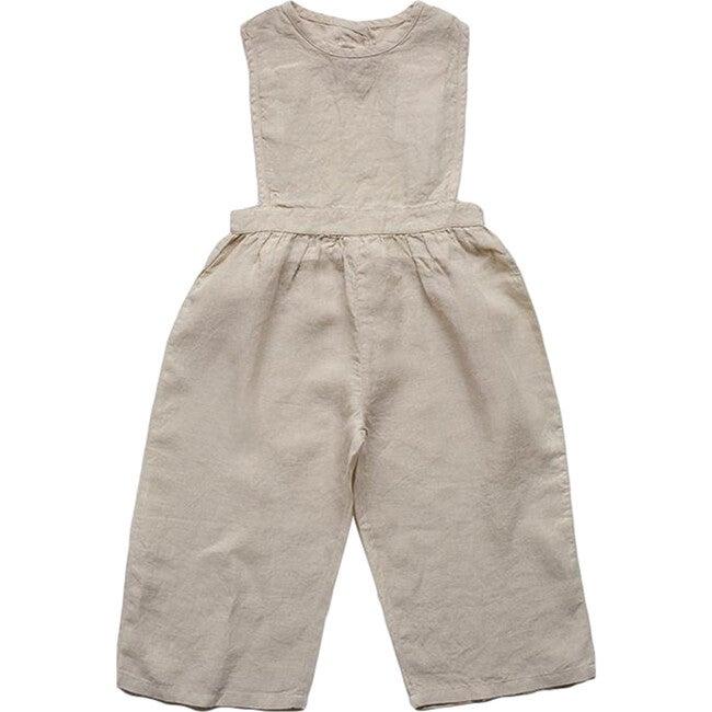 The Linen Jumpsuit, Oatmeal