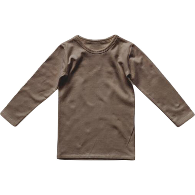 The Everyday Baby Top, Walnut