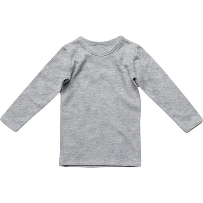 The Everyday Baby Top, Gray Melange