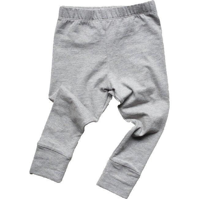 The Everyday Baby Legging, Gray Melange