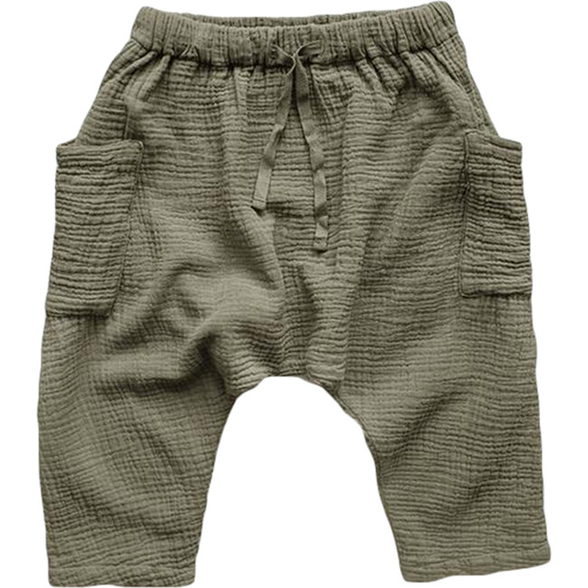 The Baby Muslin Trouser, Sage