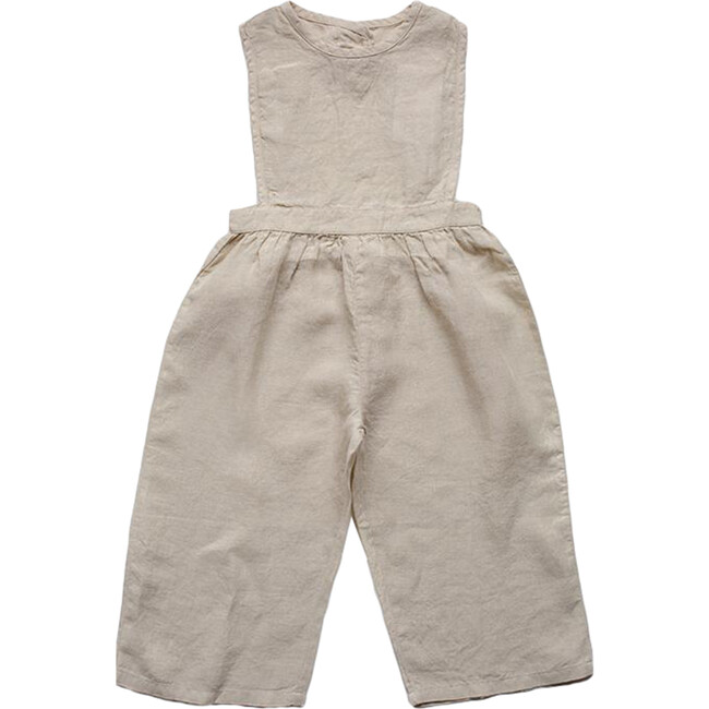 The Baby Linen Jumpsuit, Oatmeal