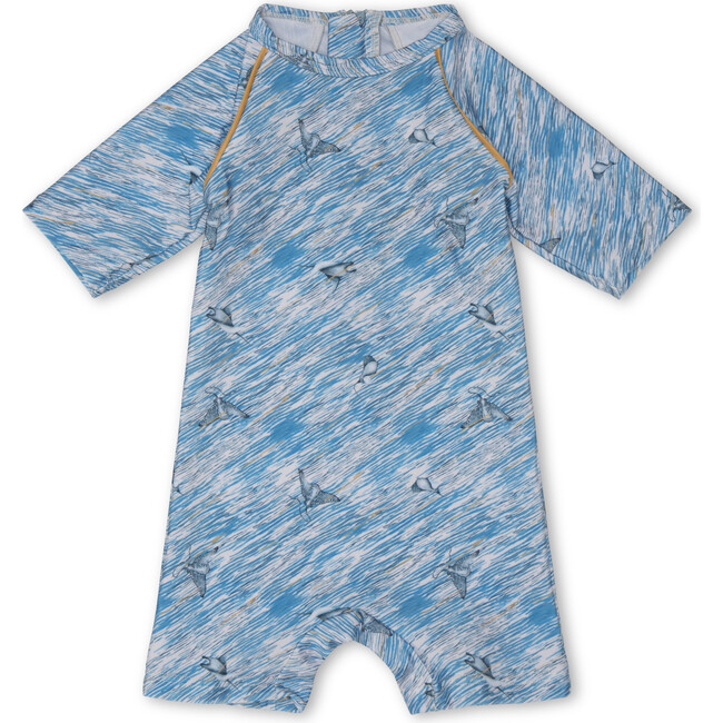 Goldie One Piece Swimsuit, Slate Blue