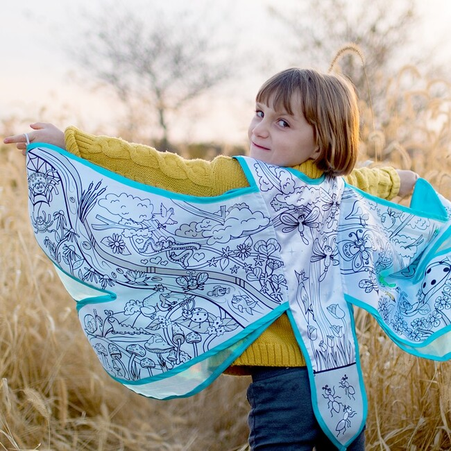 Colour-A-Cape, Dragonfly Wings