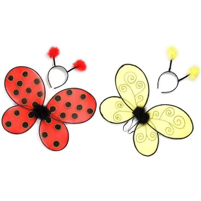 Ladybug and Bumblebee Wings Bundle