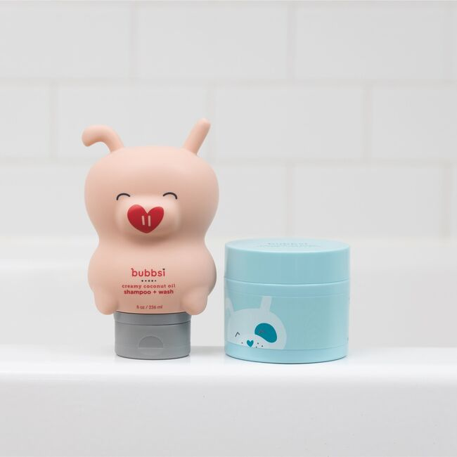 The Cradle Cap Duo (Oil Balm + Shampoo & Wash)