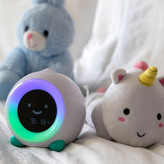 Mella Ready to Rise Children's Sleep Trainer Alarm Clock, Blush Pink