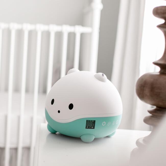 Wispi Humidifier, Diffuser and Night Light, White