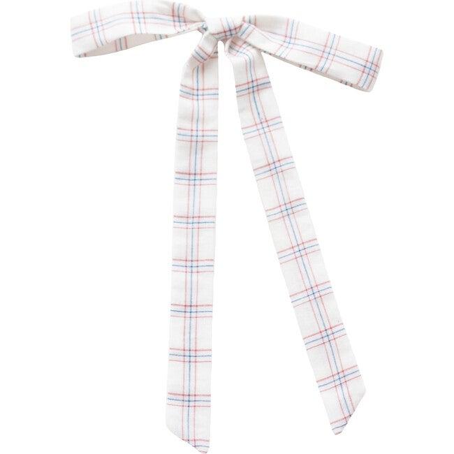 White Chex Ribbon
