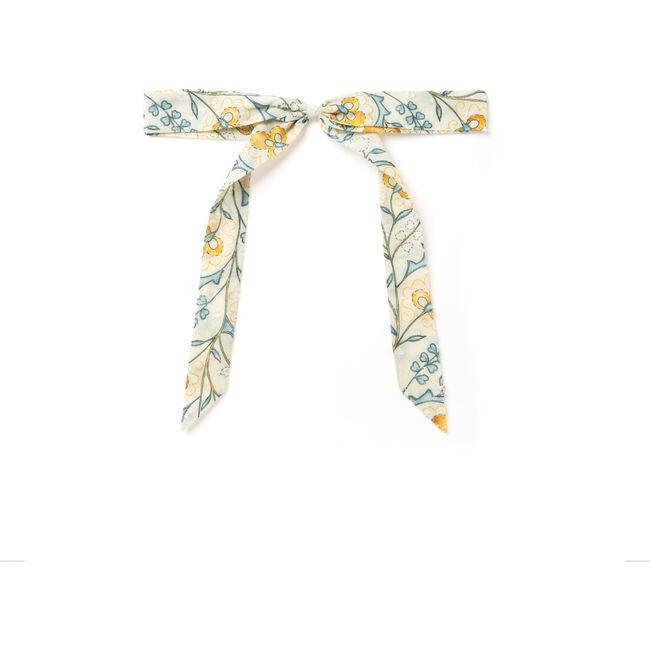 Ribbon Bow, Mustard Wallpaper
