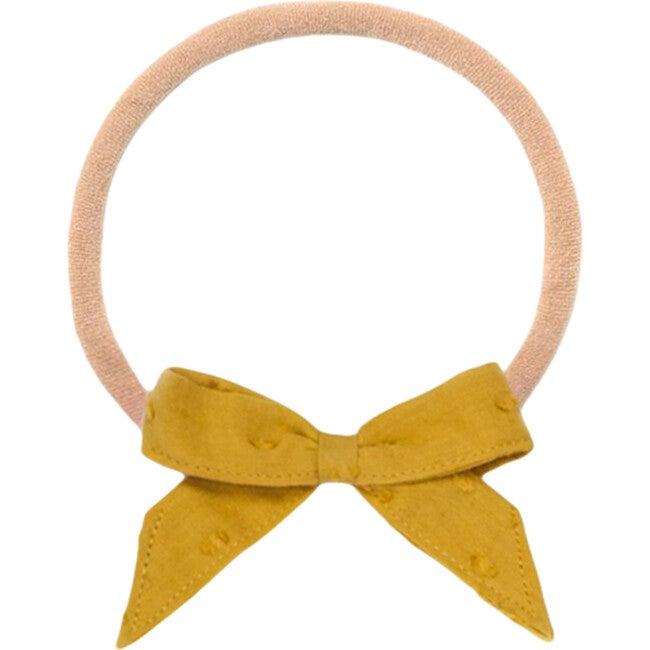Mustard Dot Baby Headband