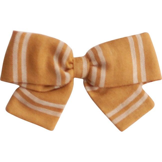 Big Bow, Mustard Stripe