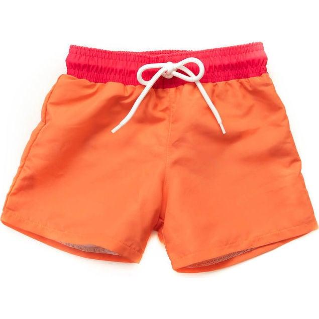 Jude Boardshorts, Retro Colorblock - Swim Trunks - 1