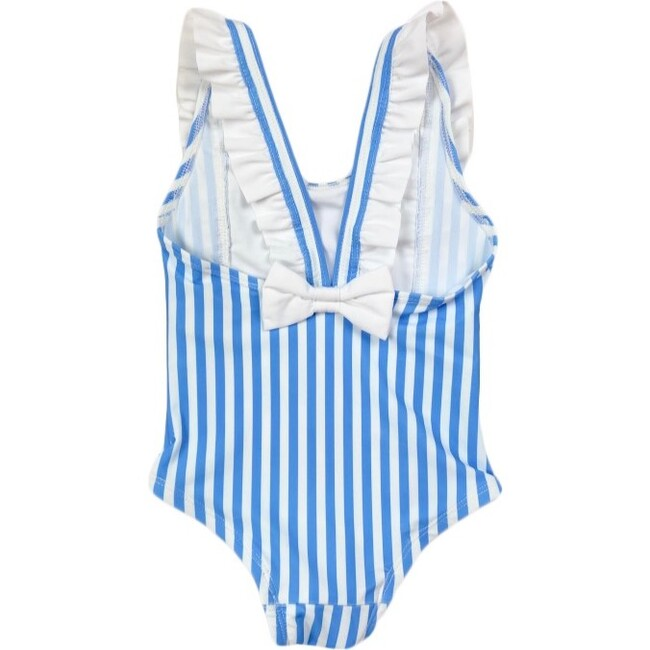 Ayla Rulffe One Piece, Royal Blue Stripe - One Pieces - 1