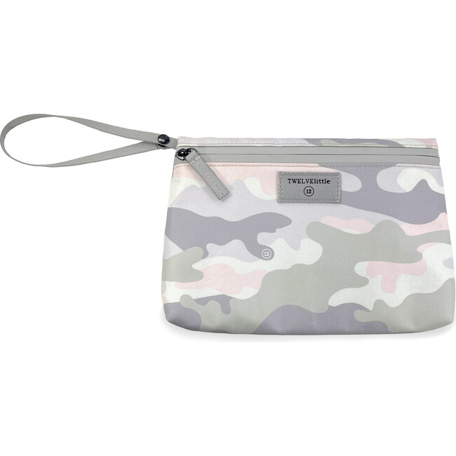 On-The-Go Insulated Pouch, Blush Camo